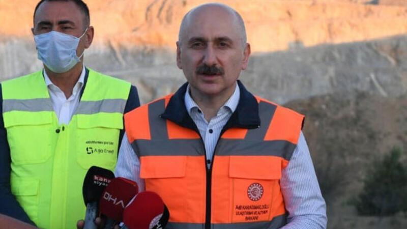 Ulaştırma Bakanı böyle duyurdu: Biz tünelin ucundaki ışığı gördük