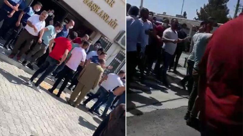 Ceylanpınar Belediyesi'nde gerginlik: 3 gözaltı