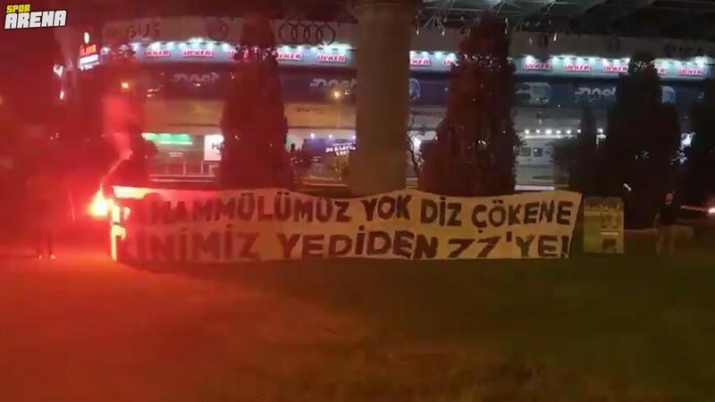 Ülker Stadyumu'nun önünde Gökhan ve Caner'e veto!