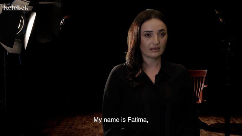 Fadik Sevin Atasoy'dan insan ticareti ile mücadeleye destek