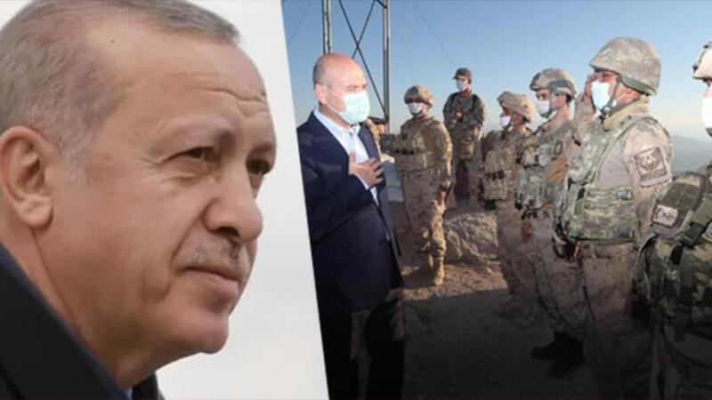 Son dakika haberi: Cumhurbaşkanı Erdoğan'dan Mehmetçiğe bayram telefonu