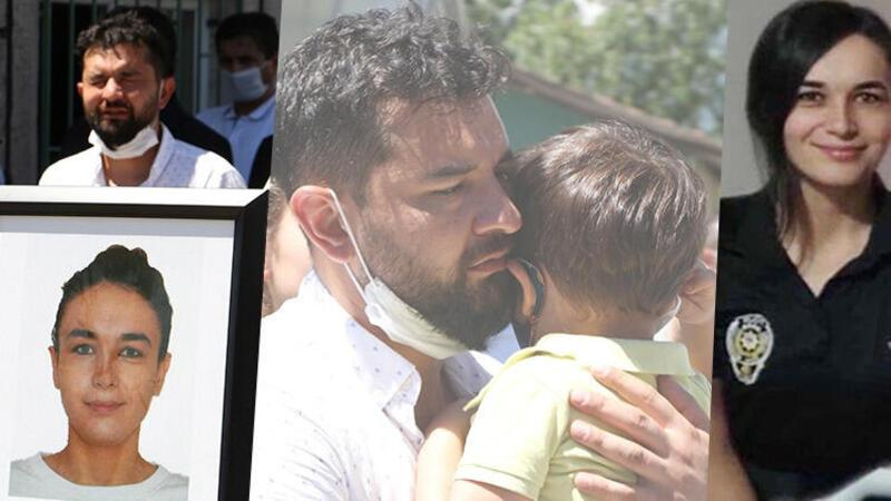 Tatilde boğularak hayatını kaybeden polis memuru Özgül, son yolculuğuna uğurlandı