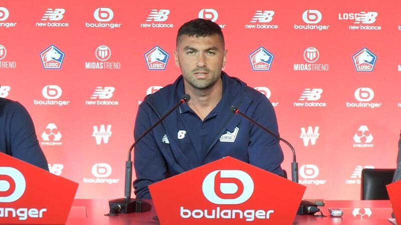 Lille'e transfer olan Burak Yılmaz'ın ilk sözleri Baskı bana iyi geliyor