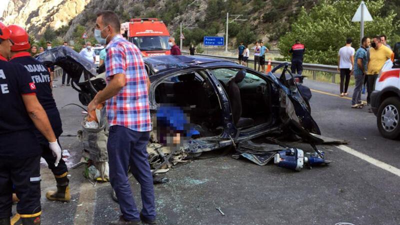 Adana'da hatalı sollama facia getirdi: 4 ölü