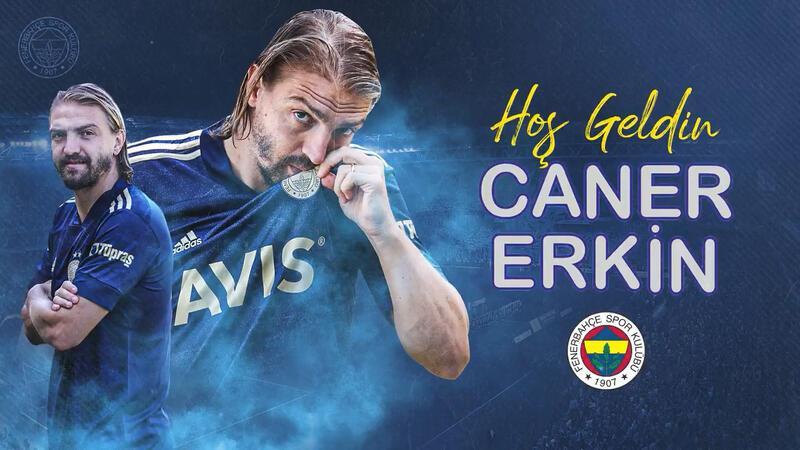 Fenerbahçe Caner Erkin transferini böyle duyurdu!
