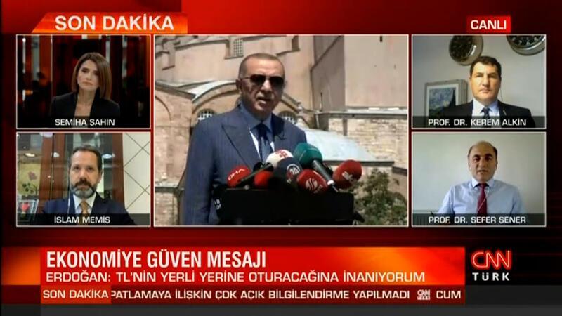 Cumhurbaşkanı Erdoğan'ın açıklamalarını uzmanlar CNN Türk'te yorumladı