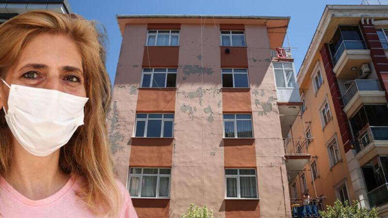 Güngören'de korku apartmanı: Binada oturanlar tedirginlik içinde