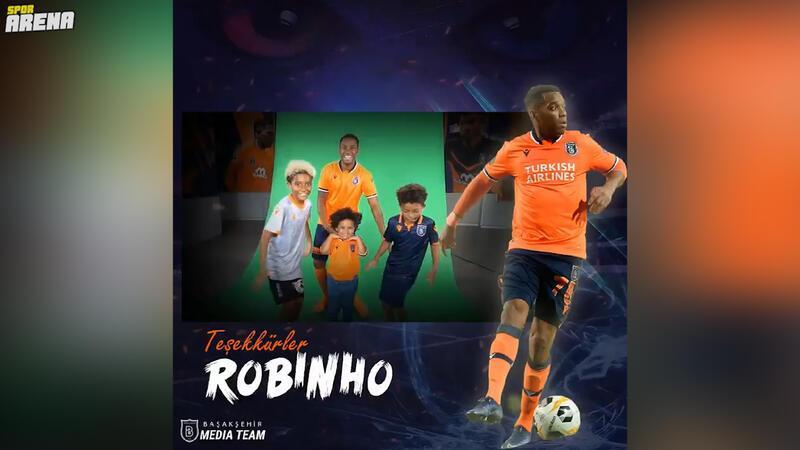 Başakşehir'den Robinho'ya veda!