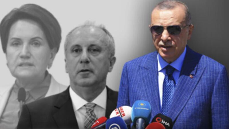 Son dakika haberi: Cumhurbaşkanı Erdoğan'dan Akşener ve İnce yorumu