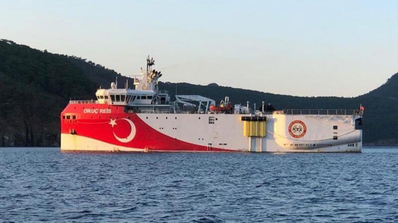 Akdeniz'de Oruç Reis gemisi için 23 Ağustos'a kadar Navtex ilan edildi
