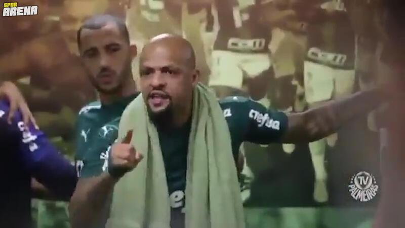 Felipe Melo'dan şampiyonluk getiren konuşma!
