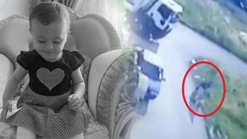 2 yaşındaki Ebrar'ın öldüğü, annesinin yaralandığı kaza kamerada