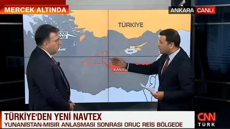 Abdullah Ağar, Doğu Akdeniz'de ilan edilen Navtex'i detaylarını aktardı