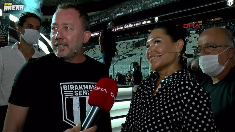 Hülya Avşar'dan Sergen Yalçın'a: Biz parayı toplayacağız, sen de bizi şampiyon yapacak mısın?
