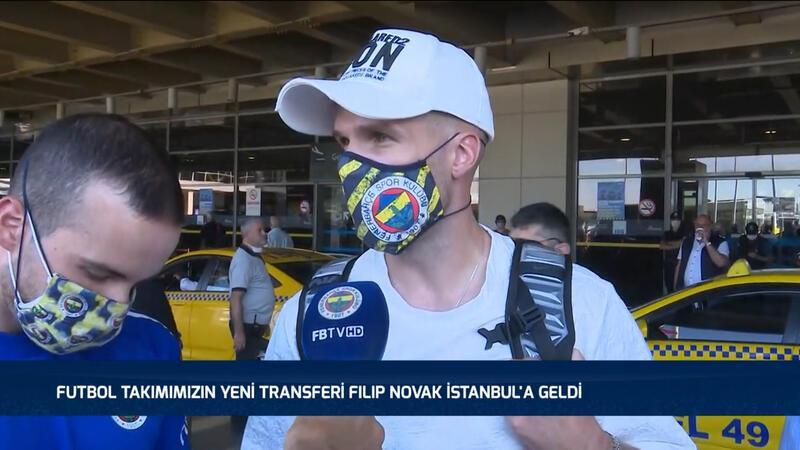Fenerbahçe'nin yeni transferi Filip Novak İstanbul'da