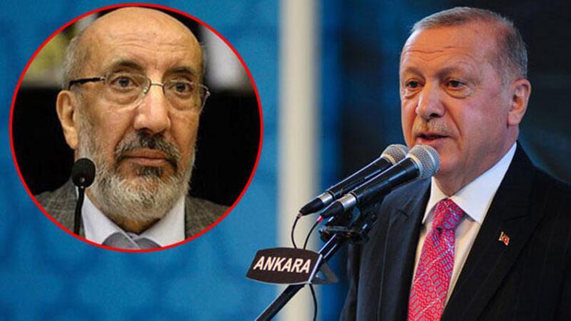 Cumhurbaşkanı Erdoğan'dan Abdurrahman Dilipak'a sert tepki: Kınıyorum