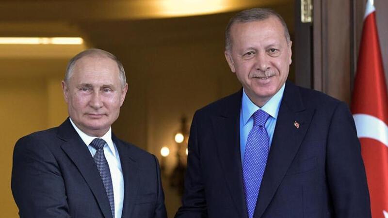 Son dakika haber... Cumhurbaşkanı Erdoğan ve Putin telefonda görüştü
