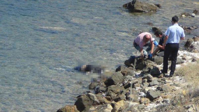 Ayvalık'ta sahilde ceset bulundu