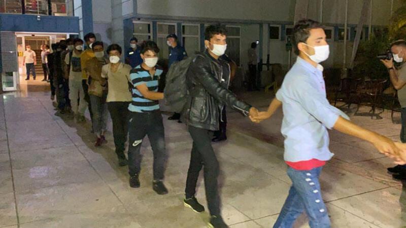 TIR dorsesinde yakalanan 173 göçmen sınır dışı edilecek