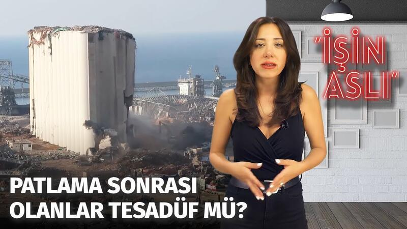 Beyrut'taki Patlamanın Ardında Komplo Mu Var? | Patlayıcıların Limanda Ne İşi Vardı? İşin Aslı