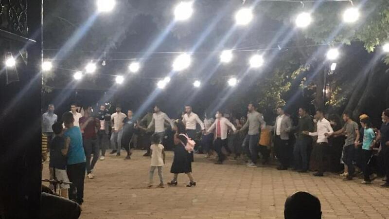 Kahramanmaraş'ta düğünde tepki çeken görüntü!