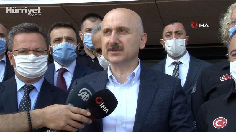 """Ulaştırma Bakanı Karaismailoğlu: """"Bu afetlerin yaşanmaması için daha ciddi tedbirler alacağız"""""""