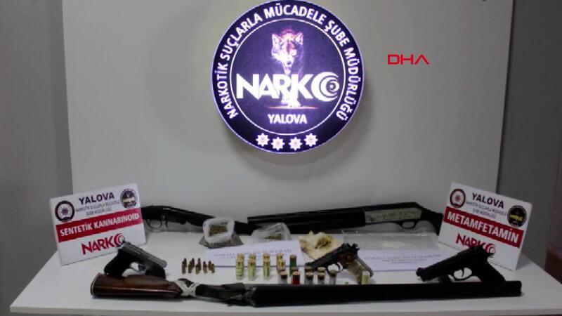 Yalova'da uyuşturucu operasyonu 11 gözaltı
