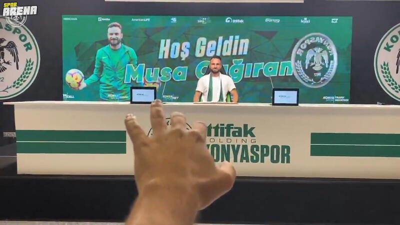 Konyaspor, Alanyaspor'dan Musa Çağıran'ı transfer ettiğini açıkladı.