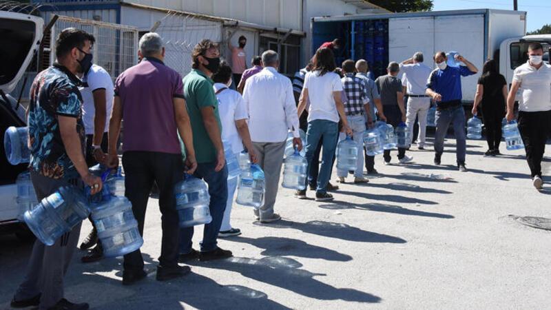 Eskişehir'de su krizi devam ediyor