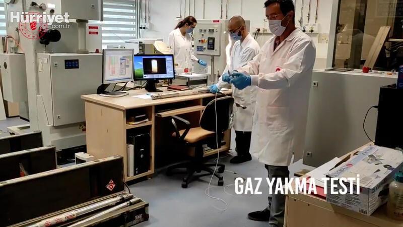 """Bakan Dönmez, """"gaz yakma testi"""" notuyla video paylaştı"""
