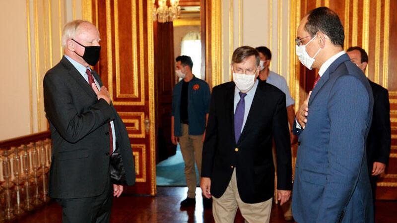 Cumhurbaşkanlığı Sözcüsü Kalın, ABD'nin Suriye Özel Temsilcisi Jeffrey ile görüştü