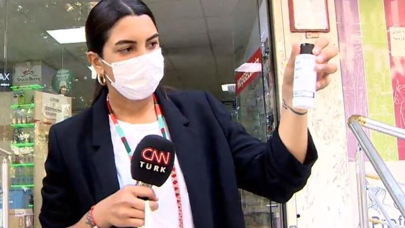 Yarısı etkisiz çıktı! Dezenfektan gerçeği CNN TÜRK'te!