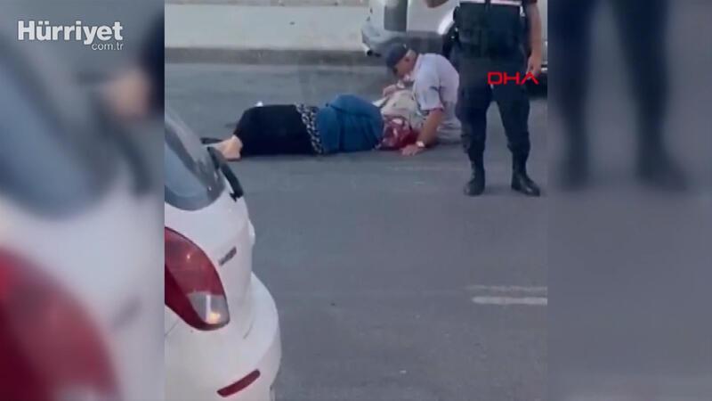 Arnavutköy'de köpeğe çarpmamak kaza yapan yaşlı çift yaralandı