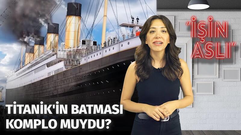 Titanik Neden Battı? Roman Yazarının Titanik İle Alakası Neydi? | İşin Aslı #Titanik