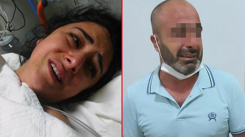 Kıskançlık kavgasında eşini 9 yerinden bıçakladı