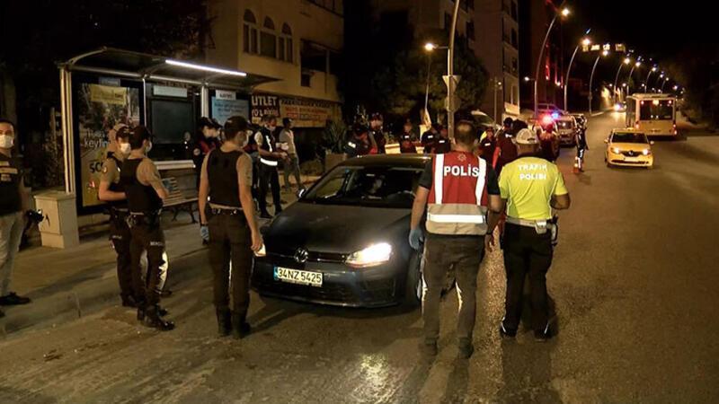 """İstanbul'da ''Yeditepe Huzur"""" asayiş uygulaması"""