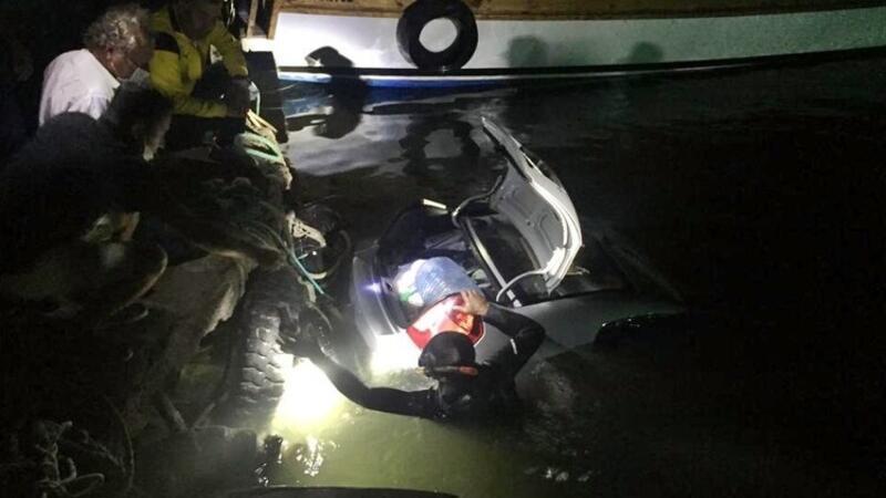 Otomobilini denize süren kişinin cansız bedenine ulaşıldı