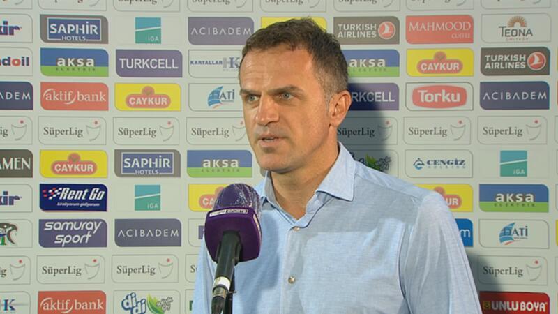 Stjepan Tomas: En az 1 puanı hak ettik