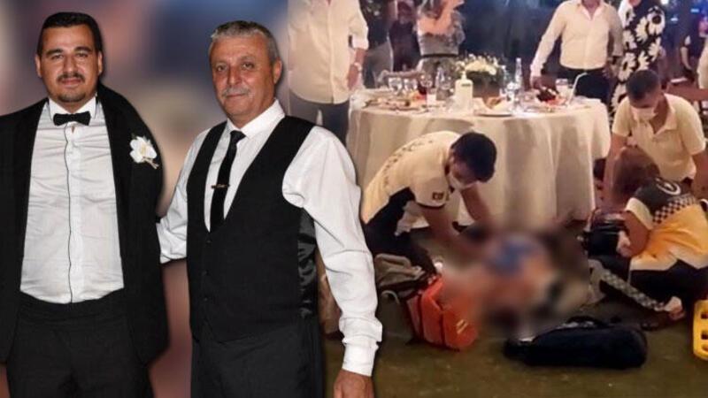 Oğlunun düğününde ölen babanın son görüntüleri ortaya çıktı