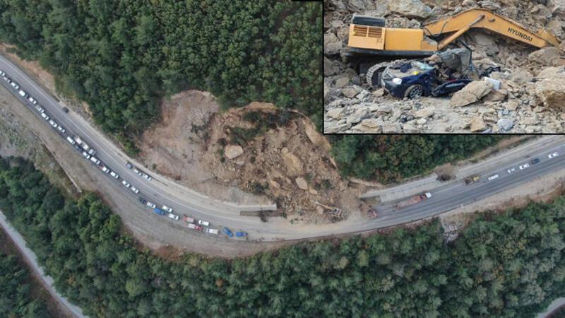Bursa'da heyelan faciası: 1 kişi hayatını kaybetti