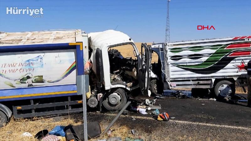 Diyarbakır'da çöp kamyonuyla kamyonet çarpıştı: 2 ölü, 2 yaralı
