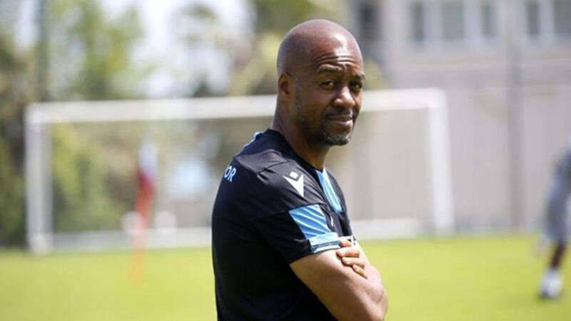 Eddie Newton: 'Trabzonspor taraftarları panik yapmasın'