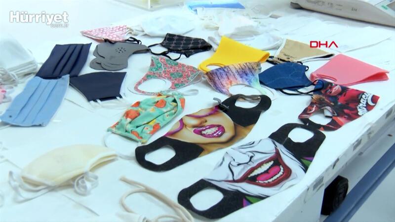 Merdiven altı maskelere dikkat... Bez maskeler için kanserojen uyarısı
