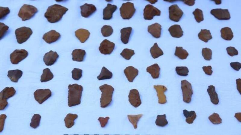 Tunceli'de, 200 bin yıl öncesine ait olduğu değerlendirilen insan izlerine rastlandı