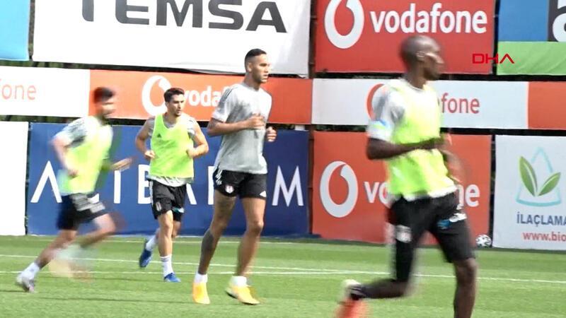 Beşiktaş'ta Josef de Souza ilk antrenmanına çıktı