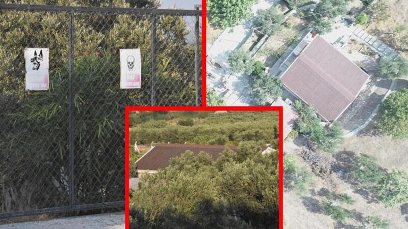 Didim Belediye Başkanı'nın tecavüzle suçlandığı çiftlik evi, dikenli tellerle çevrili