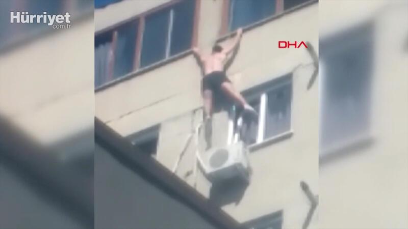Beyoğlu'nda pencereye tırmanan kişi düşerek hayatını kaybetti