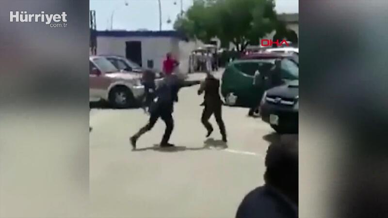 Gine lideri, Çalışma Bakanı'nı sokak ortasında dövdü