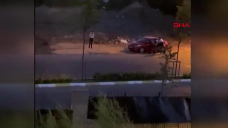 Sancaktepe 'de zorla anahtarını aldıkları kişinin otomobilini böyle çaldılar