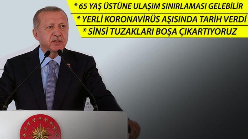 Cumhurbaşkanı Recep Tayyip Erdoğan, Kabine Toplantısı sonrası açıklamalarda bulundu